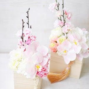 【募集!】FNY桜と胡蝶蘭のアレンジレッスンの画像