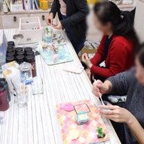 SIRENAのMEGUMI先生をゲストにお呼びしたグラスサンドアートワークショッの記事に添付されている画像