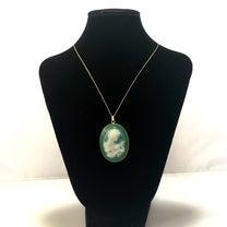 【オーダーメイド】シンプルカメオのネックレスの記事に添付されている画像