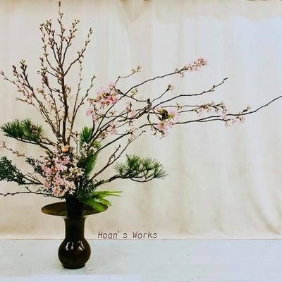 やっぱり、日本人は桜と松~立花で振り返り【いけばな池坊】の記事に添付されている画像