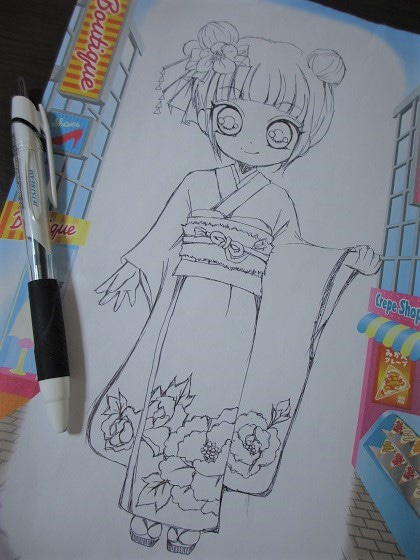 娘のためにお母さんの本気byイラスト編 みこちのブログ