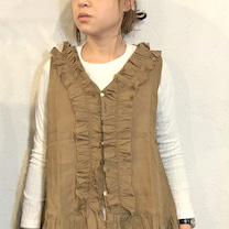 ichi linen vest blouseの記事に添付されている画像