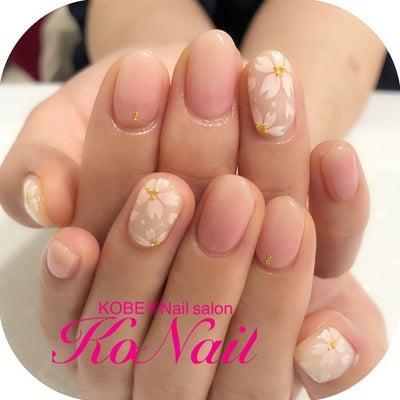 桜ネイル♡♡の記事に添付されている画像