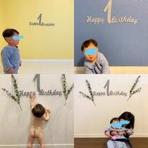 *息子、1st Birthday *の記事に添付されている画像