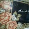 薔薇の表札トールペイントの画像