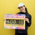 【ご報告】初フルマラソン4時間8分♀️の画像