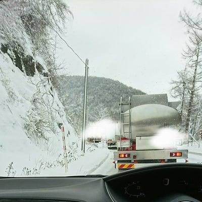雪道の記事に添付されている画像