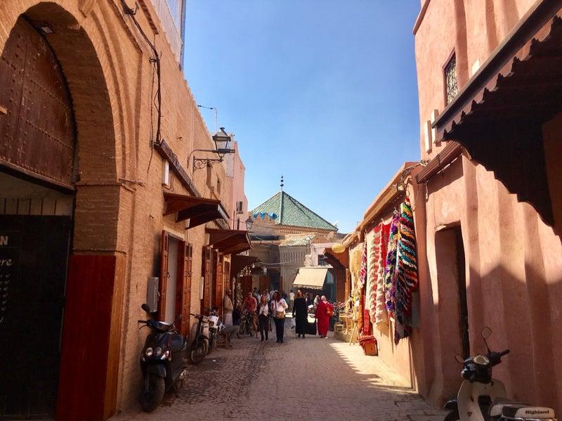 def9543015ca マラケシュの旧市街は世界遺産に登録されている街です。