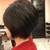 40代50代60代ヘアスタイル髪型。ショート。