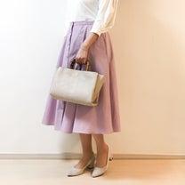 【UNIQLO】美シルエットと言えばコレ ♡ サーキュラスカートで春色コーデの記事に添付されている画像