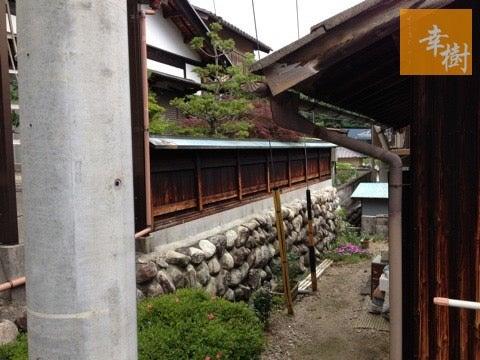 中津川 塀塗装