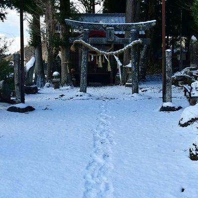 松本市波田上海渡稲荷神社の記事に添付されている画像