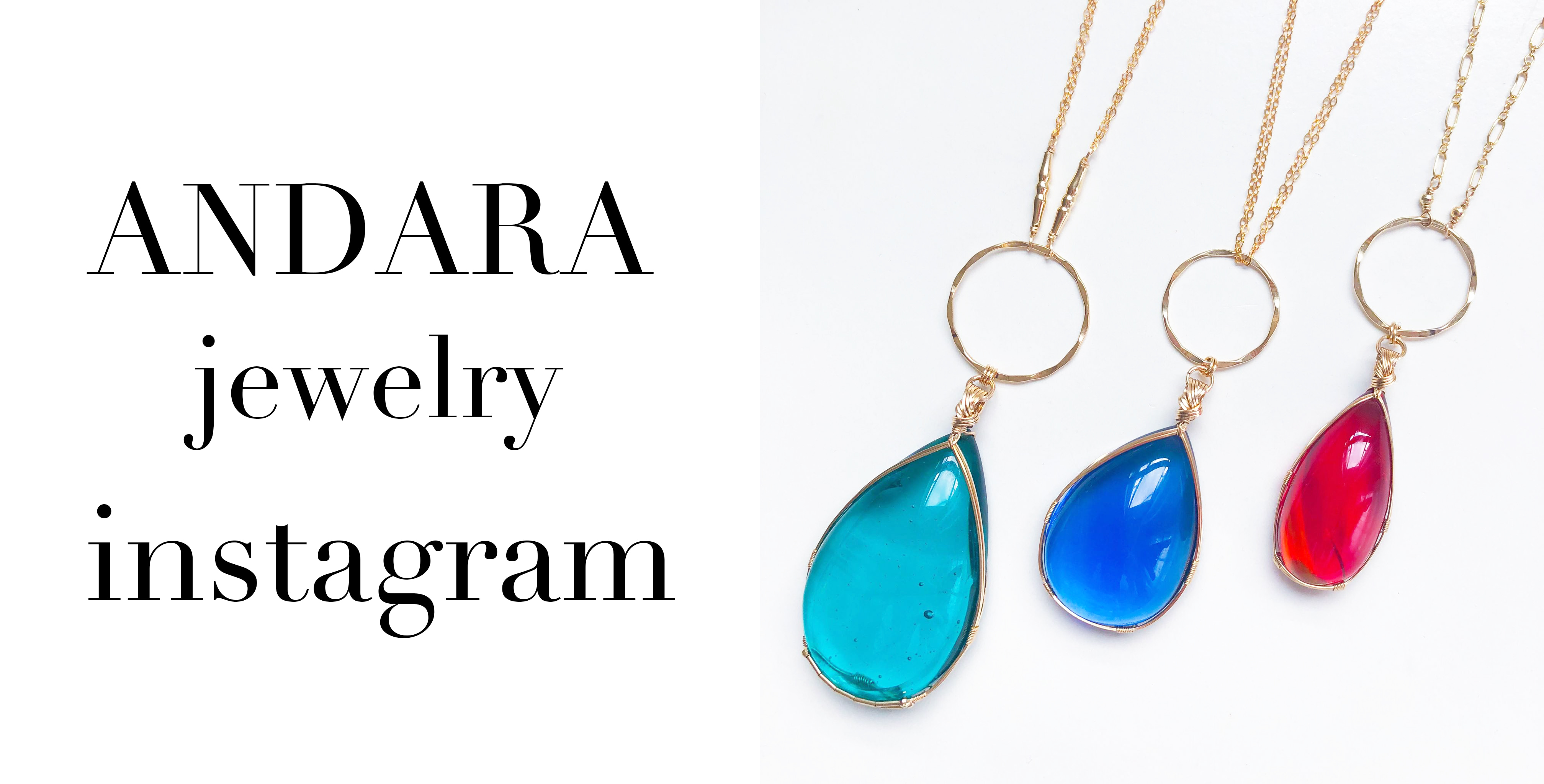 ANDARA jewelry instagram