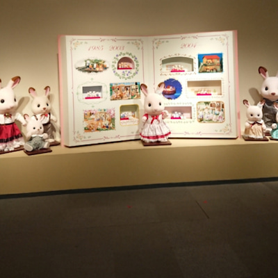 シルバニアファミリー展 特別公開①の記事に添付されている画像