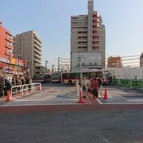 4781.駅左側の空き地にはクレーンが出現~池上駅改良工事の記事に添付されている画像