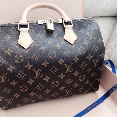 ルイヴィトンのバッグを買ってみた♡有形のものに掛けてみたとき、何を感じるか?そのの記事に添付されている画像