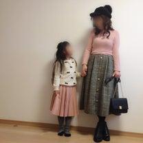 ピンクで春感♡おやこーで♡の記事に添付されている画像