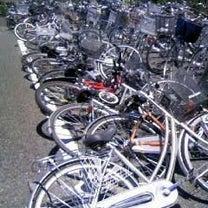 自転車がドミノ倒しになったら、何処から起しますか??の記事に添付されている画像