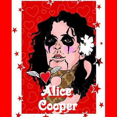 Alice Cooperの記事に添付されている画像