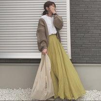 ふんわり可愛いプチプラマキシスカートの記事に添付されている画像