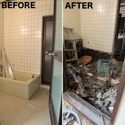 ビルをマイホーム化計画*バスルームを大規模リフォームの記事に添付されている画像