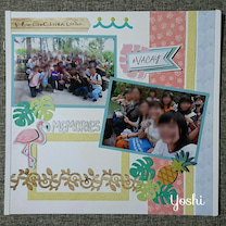 [レイアウト]サン&キス*修学旅行ハワイ4/4ページの記事に添付されている画像