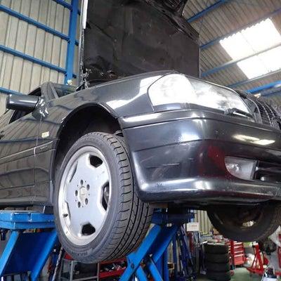 車検整備-メルセデスベンツ AMG C36(W202)コの字シール交換やオイル漏の記事に添付されている画像