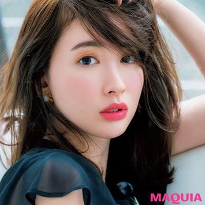 """MAQUIA発‼︎ """"キレイと言わせる春メイク""""⭐︎の記事に添付されている画像"""