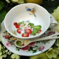 ティーカップ&ソーサーの作品♥アトリエ Pinot・Noir(ピノ・ ノ ワールの記事に添付されている画像
