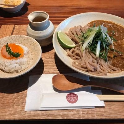 【カレー】京都四条くをん キーマカレーうどんの記事に添付されている画像