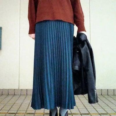 【モデルサイズ女子】ブラウン×ターコイズCoordinateの記事に添付されている画像