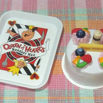 アンバースデーケーキのおままごとセット (TDR)♪の記事に添付されている画像