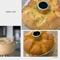 毎日シフォンケーキの記事に添付されている画像