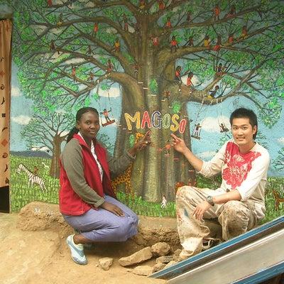 ケニア壁画プロジェクト2006 その1の記事に添付されている画像