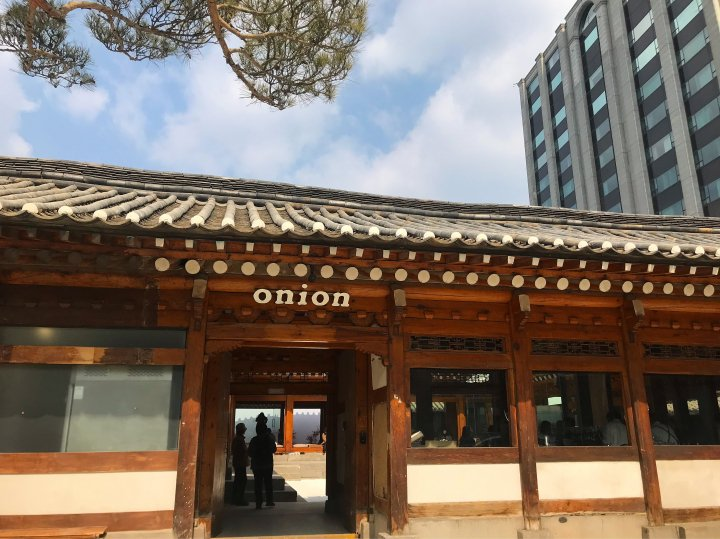 cafe onion 安国店cafe onion 安国店   東方神起☆hominholic 3rd『cafe onion 安国店』