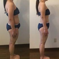ダイエットで体の厚さが薄くなりました♡の記事に添付されている画像