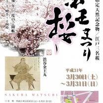 桜まつりの記事に添付されている画像
