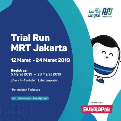 インドネシア初のMRT、一般 試乗会の記事に添付されている画像