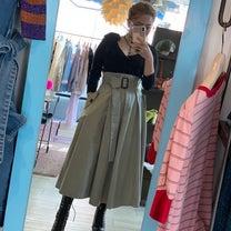 #ootd トレンチスカート & コンパクトカーデの記事に添付されている画像