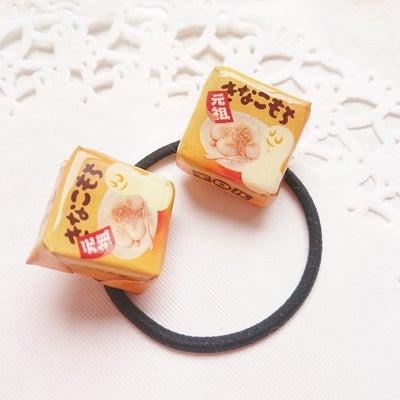 あのチョコレートの包装紙を使ってヘアゴムを作ってみましたの記事に添付されている画像