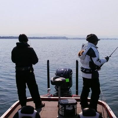 連日の琵琶湖ガイドの記事に添付されている画像