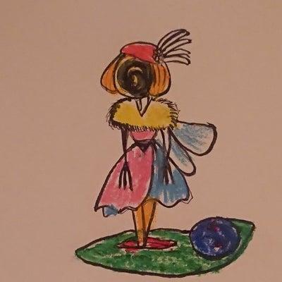 『お絵かき#魔女を描いてみた』の記事に添付されている画像