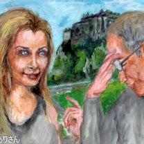 『いかがなものか:エディンバラから移動』:完成 アクリル画 の記事に添付されている画像