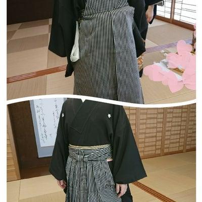 美浜なびあす着付け教室、男子袴の記事に添付されている画像