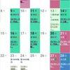 【4月】健康美レッスンスケジュール・マヨササイズの画像