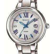 ソーラーで動く青い針の時計の記事に添付されている画像