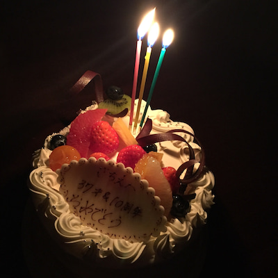 誕生日に金沢よりの記事に添付されている画像