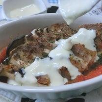 チーズソースで汁ごと美味い♪ エリンギと豚バラのミルフィーユ焼きの記事に添付されている画像