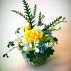 3月フラワーアレンジメント講習会のお花の画像