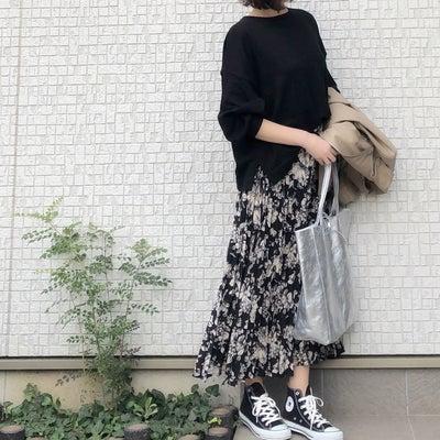 理想的な大人の花柄スカートの記事に添付されている画像